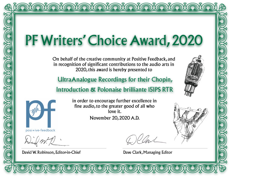 PF Writers Choice Award 2020